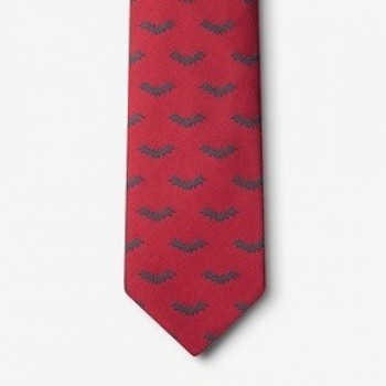 Classic Red Bat Tie - Feature Price - Product Image
