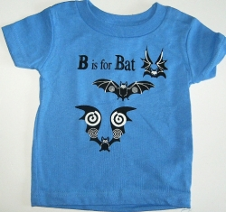 B is for Bat Infant Tee - Product Image