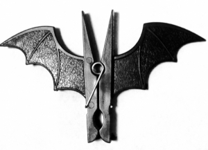 Bat Clothes Pin
