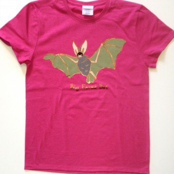 Big Eared Bat Ladies Tee   - Product Image