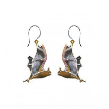 Free Tail Bat Drop Earrings by Bamboo