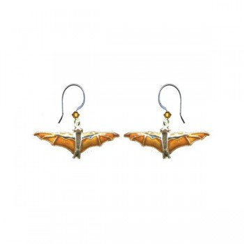 Fruit Bat Horizontal Earrings by Bamboo - Product Image