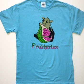 Fruitarian Bat Shirt - Product Image