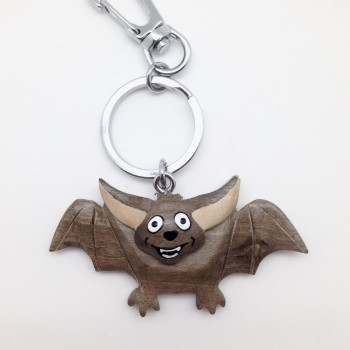 Flying Happy Bat on a swivel clip