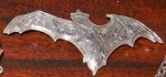 Kit Carson Signed Art Nouveau Bat Pin - Product Image