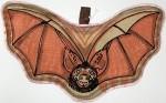 Large Fabric Bat Shaped Potholder - Product Image