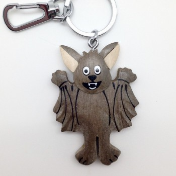 Standing Happy Bat on a swivel clip