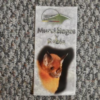 3 fold brochure in Spanish. Murcielagos Y Rabia - Product Image