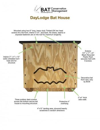 DayLodge - DIY Kit - Triple Chamber, Plywood - Product Image