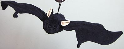 Pink Eared Plush Bat - Product Image