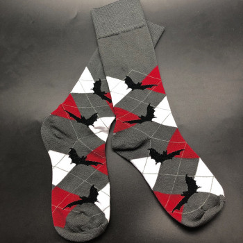 Argyle Flight Bat Socks - Product Image