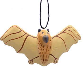 Balsa Flying Bat Ornament - Product Image