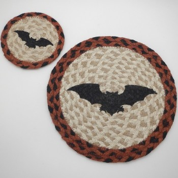 Bat Coaster or Trivet - Product Image