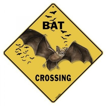Bat Crossing Sign Out Of Stock - Product Image
