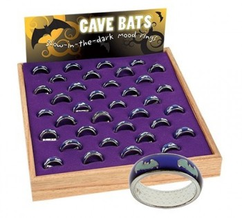 Cave Bats Mood Rings - Product Image