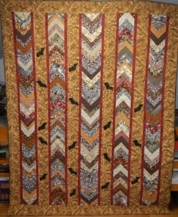 Bats and Stratigraphy Quilt - Product Image
