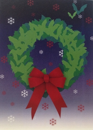 Batty Wreath - Product Image