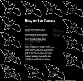 Batty for Bats Scarf - Product Image