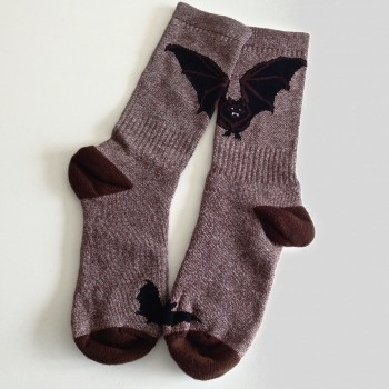 Big Brown Bat Socks - Product Image