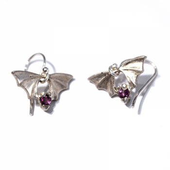 Bridge Bat Earrings - Product Image