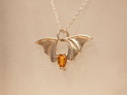 Bridge Bat Pendant - Product Image