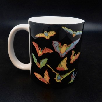 Bright Bats Coffee Mug - Product Image