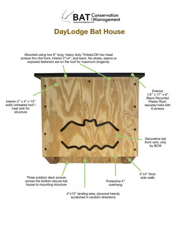 DayLodge - Triple Chamber, Plywood, Fully-Assembled - Product Image
