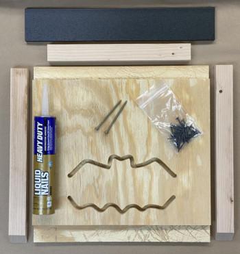DayRoost - DIY Kit - Single Chamber, Plywood Bat House - Product Image
