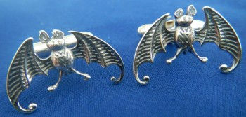 Edward Gorey Bat Cuff Links - Product Image