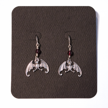 Edward Gorey Sterling Earrings - Product Image