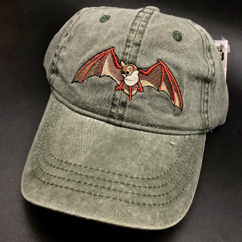 Embroidered Mexican Free-tailed Bat Cap - Product Image