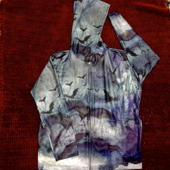 Fashion Flight Ladies Bat Sweatshirt - Product Image