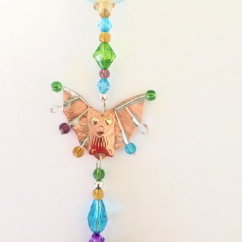 Flying Bat Suncatcher - Product Image