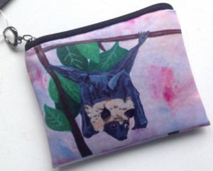 Fox Bat Change Purse - Product Image