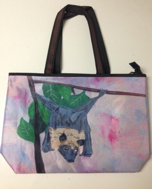 Fox Bat Tote - Product Image