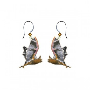 Free Tail Bat Drop Earrings by Bamboo - Product Image