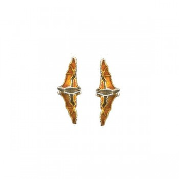 Fruit Bat Vertical Post Earrings by Bamboo - Product Image