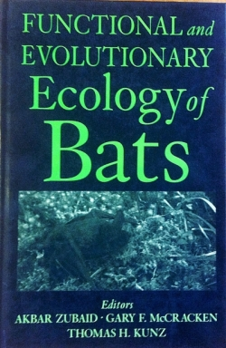 Functional and Evolutionary Ecology of Bats - Product Image