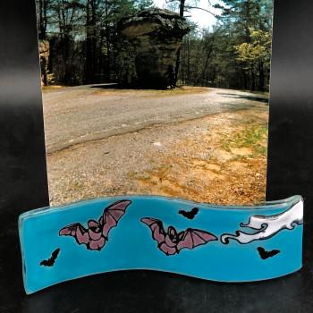 Glass Wave photo holder - Product Image
