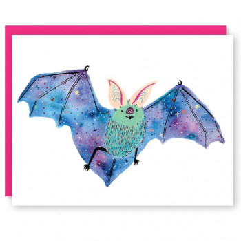 Interstellar Bat Individual Note Card - Product Image