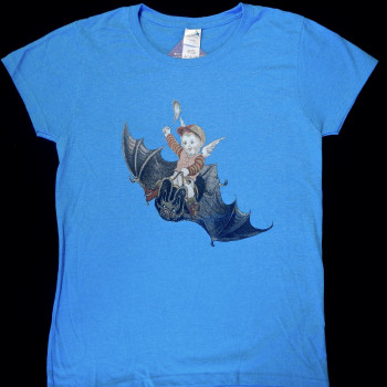 Into The New Year Victorian Bat Art Shirt - Product Image