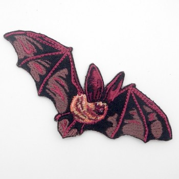 Iron On Big Eared Bat Patch - Product Image