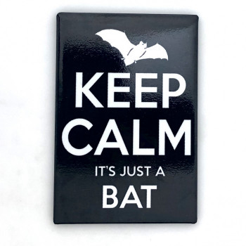 Keep Calm It's Just A Bat Magnet - Product Image
