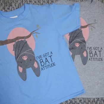 I've Got A Bat Attitude Toddler Tees - Product Image