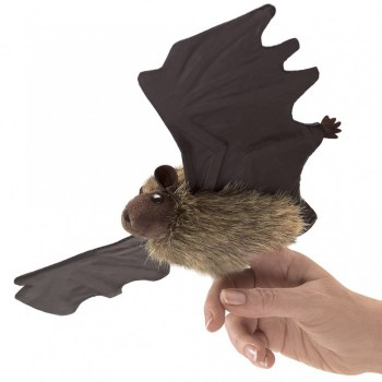 Little Brown Bat Finger Puppet - Product Image