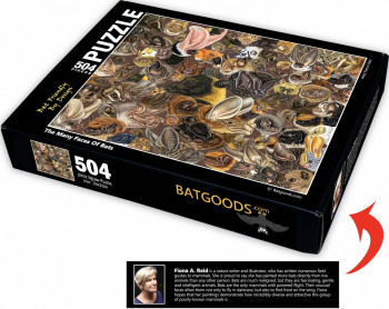 Many Faces of Bats 504 piece Jigsaw Puzzle (16 X 20 inches) - Product Image