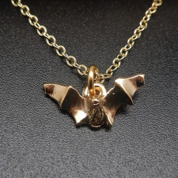 Myotis 14K Gold Plate Necklace - Product Image