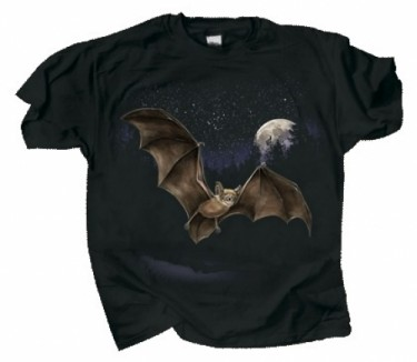 Bat And Moon Bat Shirt Or Coffee Mug - Product Image
