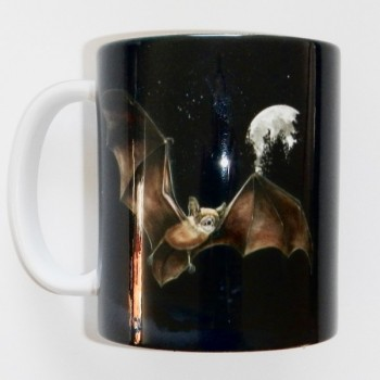 Bat And Moon Mug - Product Image
