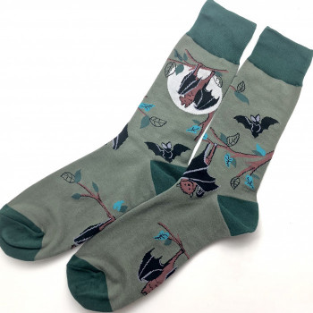 Going Batty Crew Socks - Product Image